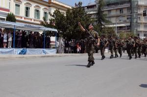 Παρέλαση στην Σέρρες