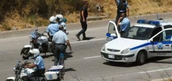 Αστυνομική καταδίωξη στην Σέρρες