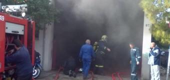 Εμπρηστής έβαλε φωτιά σε καφετέρια στη Νιγρίτα