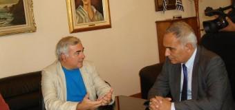 Επίσκεψη του Ευρωβουλευτή Ν.Χρυσόγελου στο Επιμελητήριο Σερρών