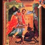 Σήμερα γιορτάζει και ο ΑΓΙΟΣ ΝΙΚΗΤΑΣ… Ο ΙΕΡΟΜΑΡΤΥΡΑΣ εκ Σερρών που τον βασάνισαν και τον κρέμασαν οι Τούρκοι