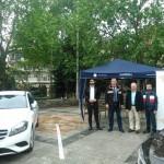 Εκθεση ειδών μελών του επιμελητηρίου του κλάδου της αυτοκίνησης στην πλ. Ελευθερίας
