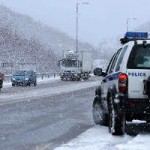 Ανακοίνωση σχετικά με την κατάσταση στο οδικό δίκτυο της Περιφερειακής Αστυνομικής Διεύθυνσης Κεντρικής Μακεδονίας, ανά Περιφερειακή Ενότητα,εξαιτίας της χιονόπτωσης-παγετού