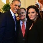 Η… selfie της Όλγας Κεφαλογιάννη με τον Μπαράκ Ομπάμα