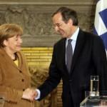 Σαμαράς και Βενιζέλος έθεσαν στην Ανγκελα Μέρκελ το ζήτημα του γερμανικού κατοχικού δανείου