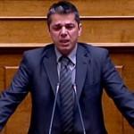 Ο Μπούκουρας ξέσπασε σε κλάματα στην ολομέλεια της Βουλής