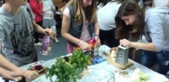 Μια σαλάτα έκανε διάσημο το 3ο Δημοτικό Σχολέιο Σερρών