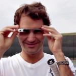 Ο Roger Federer παίζει τένις φορώντας Google Glass