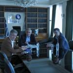 Τον πρόεδρο του επιμελητηρίου Σερρών επισκέφτηκε ο δήμαρχος Σερρών
