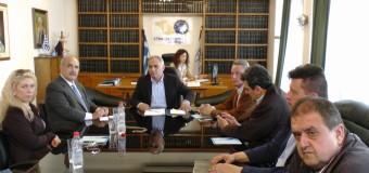 Συνάντηση με τον υποψήφιο περιφερειάρχη Μάρκο Μπόλαρη