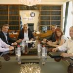 Συνάντηση με τον Πρόεδρο και τον Α΄Αντιπρόεδρο του Επιμελητηρίου Σερρών είχε ο Υποψήφιος Δήμαρχος Σερρών κ. Στέφανος Φωτιάδης