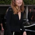 Η Γαλλίδα ηθοποιός Julie Gayet έκανε την πρώτη της δημόσια εμφάνιση στο φεστιβάλ των Καννών  μετά το τέλος της σχέσης της με το Francois Hollande