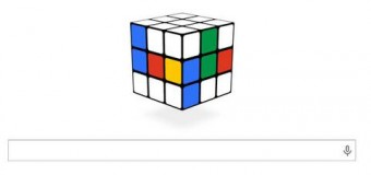 Λύστε τον κύβο του Ρούμπικ στο λογότυπο της Google