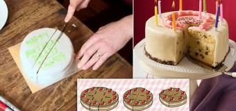 Ο βέλτιστος… μαθηματικός τρόπος για να κοπεί μια τούρτα
