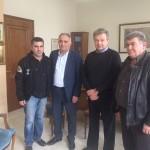Συνάντηση του κ. Χρήστου Μέγκλα με τον δήμαρχο Σιντικής κ. Φώτη Δομουχτσίδη