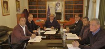 Επίσκεψη στον πρόεδρο του επιμελητηρίου Σερρών κ. Χρήστο Μέγκλα πραγματοποίησε ο πρόεδρος του εργατοϋπαλληλικού Κέντρου Ν. Σερρών κ. Αλκης Απιδόπουλος