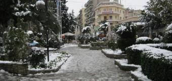 Ανακοίνωση σχετικά με κυκλοφοριακές ρυθμίσεις λόγω χιονόπτωσης